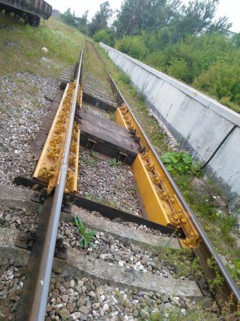 Вагонные весы ВТВ-Д на станции Псков-Товарный
