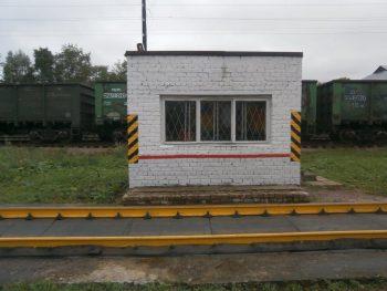 Вагонные весы рычажные РС-150Ц-13В на станции Сортавала