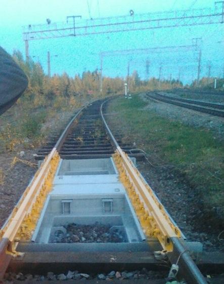 Вагонные весы ВТВ-Д на станции Лоухи
