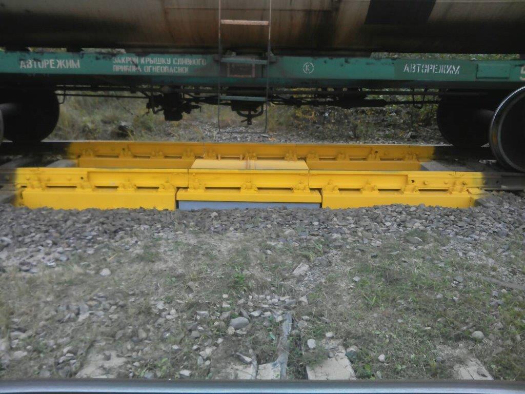 Вагонные весы ВТВ-Д на станции Великие Луки